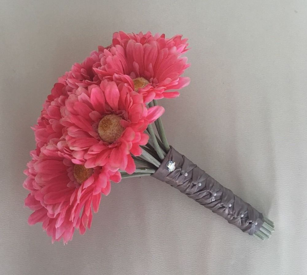 Silver artificial flowers uk the most beautiful flower 2018 the fl touch uk silk flower wrist corsages mother of mightylinksfo